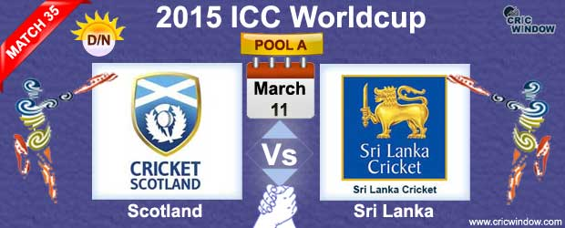 Scotland vs Sri Lanka Match-35
