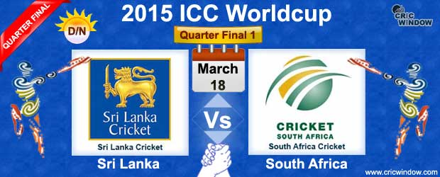 Sri Lanka vs South Africa  Q-1  Live Scorecard