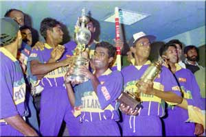 Sri Lanka 1996 World Cup Winner