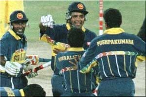 Sri Lanka 1996 World Cup Winner