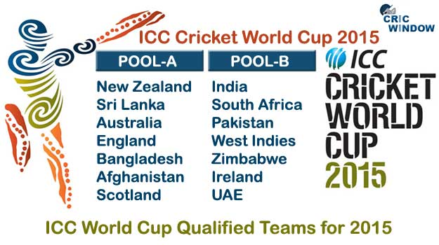 2015 ICC Cricket World Cup Match Schedule | Time Table | Match.
