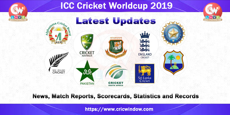 icc world cup scorecards 2019